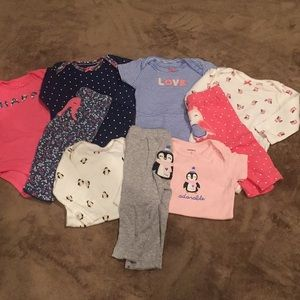 Carters 3 month sets